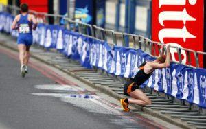 Runner Hits the Wall - Bonk
