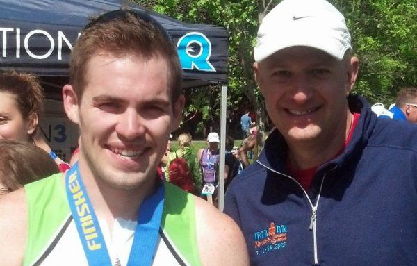 Coach Kevin & Athlete Nick